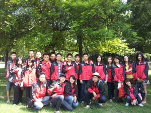 BLCI students at Anhui University