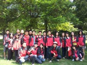 BLCI students at Anhui University