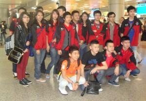 Pengenala kota City Tour mahasiswa Nanjing University Aeronautics Astronautics  bersama BLCI