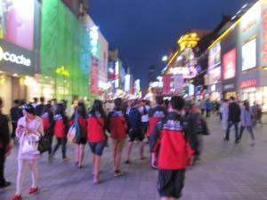 Mahasiswa SAU City Tour di Zhong Jie Shenyang bersama BLCI