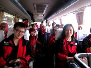 Pengantaran Bus